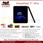 Ray Tech Viewsonic Viewpad 7 Tablet Android