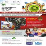SITEX 2012 Lucky Draw All I Want For Xmas, Prizes, Ladies Go Tech Lucky Dip, Recycling