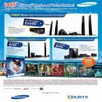 Courts Home Theatre System HT-E6750W, HT-E5530K, HT-4500K