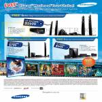 Gain City Home Theatre System HT-E6750W, HT-E5530K, HT-4500K