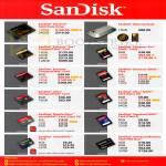 Flash Storage Extreme SSD, Memory Vault, CompactFlash CF, Ultra SDHC, MicroSDHC, Memory Stick Pro Duo