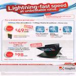 Broadband Fibre 150Mbps, Free Lenovo IdeaPad Yoga 13 Notebook, Fixed Line, Mobile Broadband