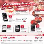 Mobile Phones HTC One XL, Changi City Point, Sony Xperia Ion, Samsung Galaxy Ace 2, LG Optimus 4X HD