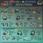 Headphones Earphones TDK EB900 950 BA100 IE800 BA200 NC400 ST700 WR700 Clef ISmart ECSP300 EC300 EC40, Blaupunkt Comfort 112 NC, DJ 112, Easy 111