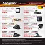Energizer Portable Charger AP750MC, XP1000, GP2100, AP1528GS3, XP2000, XP4003, XP8000, XP18000