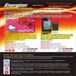 Energizer Xpal Portable Charger XP1000KT, AP1201