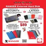 Systems Tech Ranger External Storage Hard Disk