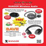 Systems Tech Ranger Wireless Audio, Bluetooth Transceiver, Headsets Symphony 300, 380