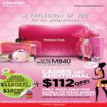 Toshiba Notebooks Satellite M840 Ladies 112 Dollars Off