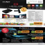 Veolo2 Android Hub, Citibank, PlayOn HD3 Media Player, PlayOn HD3 Mini Media Streamer