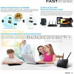 Networking Router Features, Fast AiRadar, Dual Band