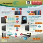 Seagate Central Wireless Backup Plus, Slim Expansion, Desktop External Storage Drive, HDD 500GB 1TB 2TB 3TB 4TB