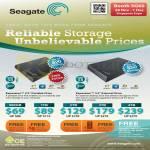 Seagate Expansion Portable External Storage Drive 500GB 1TB 2TB 3TB 4TB