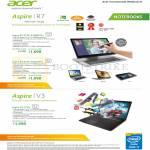 Notebooks Aspire R7-572G-54208G1Ta, 7450161Ta, Aspire V3-772G