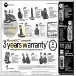 Motorola Dect Phones SC200 C601 D501 O101 S1201 D1001 C1002D C602 D1002, Walkie Talkie T6 T8 T80 Extreme