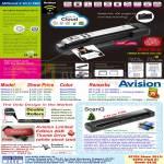 Avision MiWand 2 Wi-Fi Pro Scanner, 2 Wi-fi, 2 Wi-fi Pro, 2L, 2L Pro, 2 Pro, ScanQ