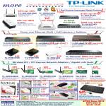 TP-Link Networking Wireless Routers, Switch, Power Over Ethernet PoE, USB Adapters, PCI, Kanvus, MyGica, Keyboard, Life 106