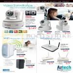 Video Surveillance WIPC408HD, Wireless Repeater WL559E, Routers