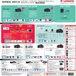 Digital Cameras DSLR EOS 70D 700D M 600D 6D 100D 1100D, Legria Camcorders HF G25 G10 Mini