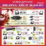 Blow Out Sale Headphones Aurvana Gold, Hitz, Speakers T4 Wireless, Sound Blaster Audigy Rx Fx, Tactic3D Fury, ZiiSound, SBX 8, WP, Fatal1ty