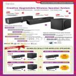 Modular Wireless Speaker System D5xm D3xm DSxm, Bundles