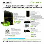 D-Link Starhub Partner Networking Routers DIR-865L, DIR-868L, IPCam DCS-942L, DWR-117, DAP-1360, DGS-1005A