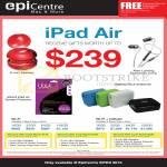 Apple IPad Air Tablet Wi-Fi Cellular, Free Gifts, 16GB 32GB 64GB 128GB