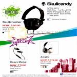 Epicentre Futureworld Skullcandy Headphones Skullcrusher, Earphones Heavy Medal, Aviator