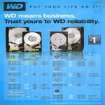 WD Western Digital Internal HDD Red Green Blue 1TB 2TB 3TB 4TB, 320GB 500GB