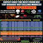 GamePro Gaming Notebooks Desktop PC ASUS, Samsung, MSI, Dell Alienware X51 Aurora M14x 14, Razer Blade, Pro