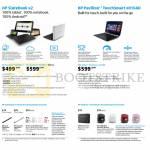 Notebooks, Accessories, Slatebook H02BRU-x2, H030RU-x2, Touchsmart E016AU Notebook