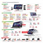 Desktop PCs Q190 H530s, AIO Desktop PCs C340, C440 Touch, C540, A530, B550, Accessories, Mouse, Bags