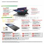 Notebooks Thinkpad Yoga, X1 Carbon, X1 Carbon Touch