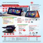Notebooks Yoga 2 Pro Ultrabook, Yoga 13, Yoga 11s