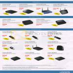Wireless Routers, Modems, USB Adapters, Switch, E1200, E2500, WRT54GL, WRT160NL, X1000, AE1200, AE2500, AE6000, WAP300N, WUMC710, SE1500, SE2500, SE2800