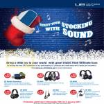Ultimate Ears Free CapitaLand Voucher Headphones, UE4000, UE6000, UE600, UE9000, UE900, UE Mobile Boombox