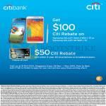 Citibank 100 Dollar Rebate On Samsung Galaxy Note 3, S4