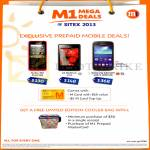 Mobile Prepaid M Card Nokia 301, LG Optimus L3 II, Samsung Galaxy Ace 3, Free Cooler Bag