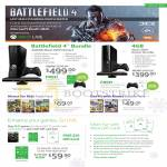 Xbox 360 Battlefield 4 Bundle, Kinect Bundle, Games, Kids, Get Fit, Xbox Gift Card, Live Gold Membership