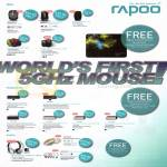 Rapoo Wireless Laser Mouse, Keyboards, Headsets, 3920, 6610, 3710P, 7100P, 3360P, X1800, 8900P, E6100, E9070, E6300, H8060, H8030
