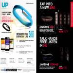 Jawbone Bluetooth Headset Era, Icon HD, Up