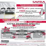 Safra Membership, 50 Percent Two Year Renewal, Member Specials