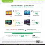 Business Mobile Duo Bundles Samsung Galaxy Note 3, S4, Blackberry 9720, Sony Xperia Z1