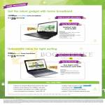 Fibre Broadband 100Mbps 39.90 Free 6 Months Or ThinkPad S440 Notebook, 25Mbps 24.90 Free 3 Month Or Acer Aspire C720 Chromebook