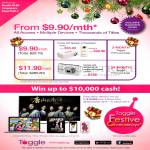 Toggle Prime Packages, Win Cash