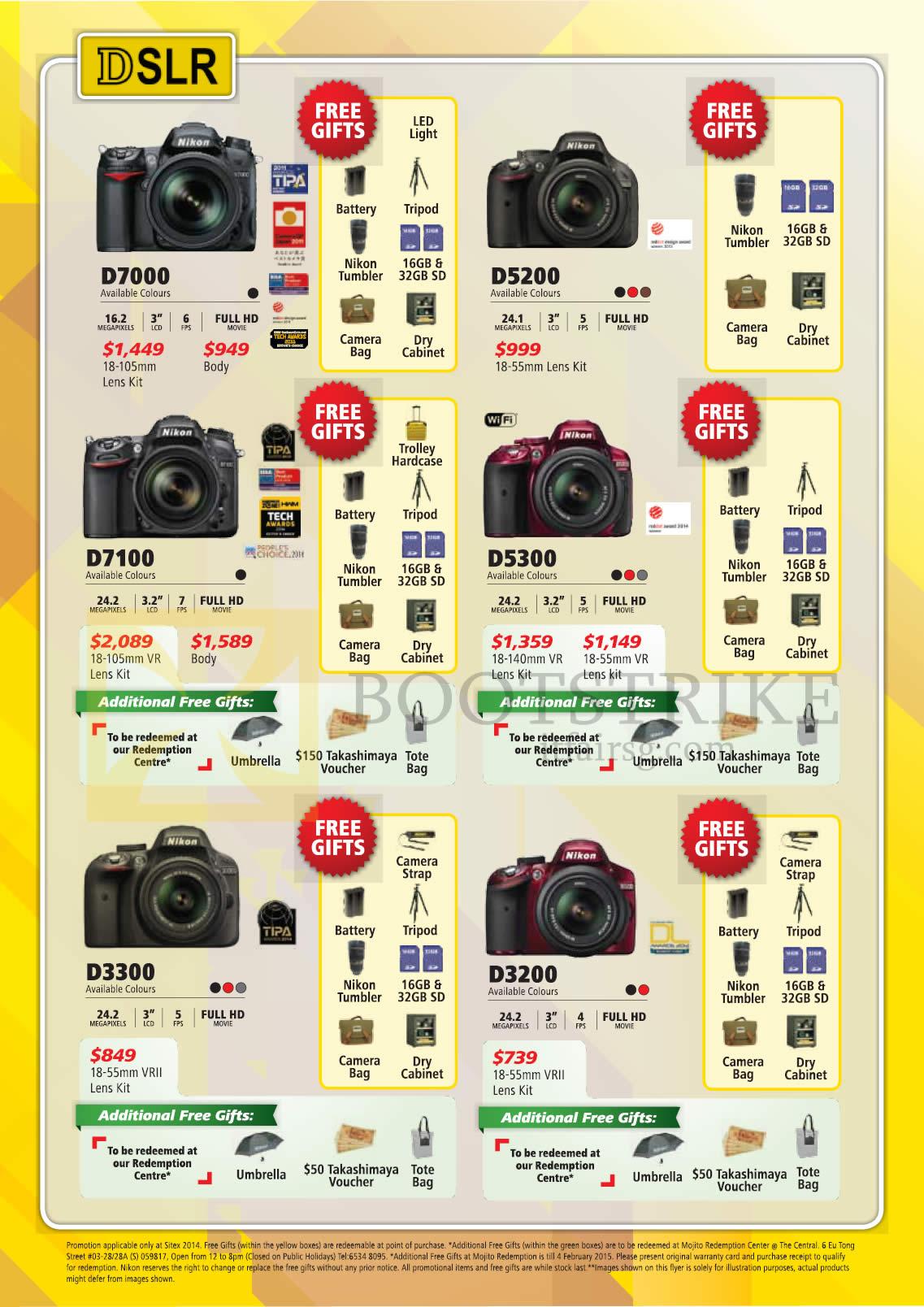 Camera List Of All Nikon Dslr Cameras nikon camera deal in town prices singapore d750 dslr digital cameras d7000 d5200 d7100 d5300 d3300
