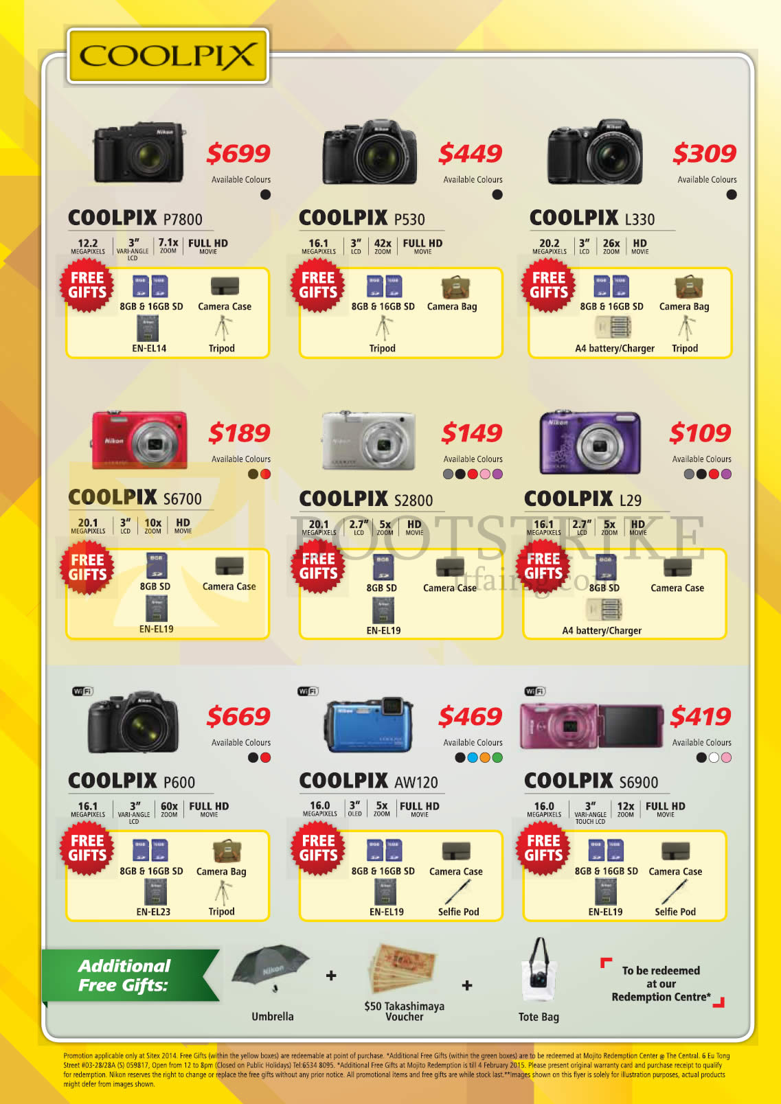 Nikon Digital Cameras 1 AW1, 1 J4