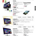AIO Desktop PCs P1801-B184K, P1801-B075K, P1801-T-B015M, ET2230IUT-B013Q, ET2321INTH-B073Q, ET2321INTH-B081Q