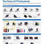 Choice Of IT Professionals, Notebooks, Smartphones, Tablets, Desktop PCs, AIO Desktop PCs