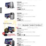 Desktop PCs M70AD-SG007S, M32AD-SG004S, P50AD-SG005S, P30AD-SG008S